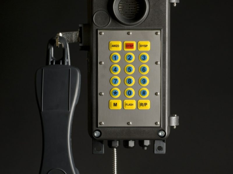 Telefon Górniczy Iskrobezpieczny