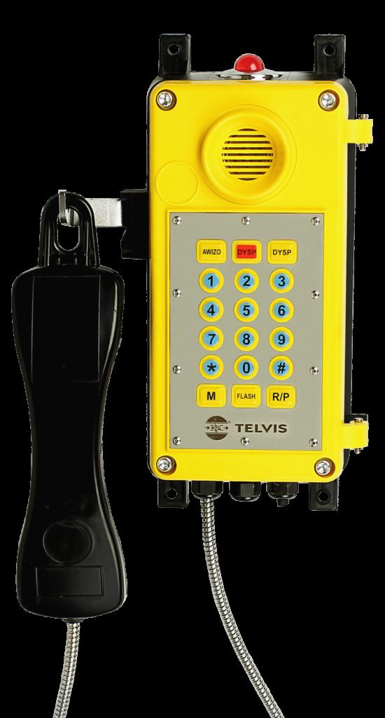 Telefony przemysłowe TPN, górniczy TGI oraz nowe wersje systemów STAR
